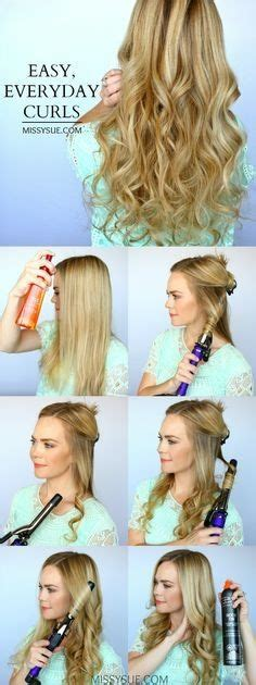 everyday hairstyles for naturally wavy hair everyday hairstyles for wavy hair