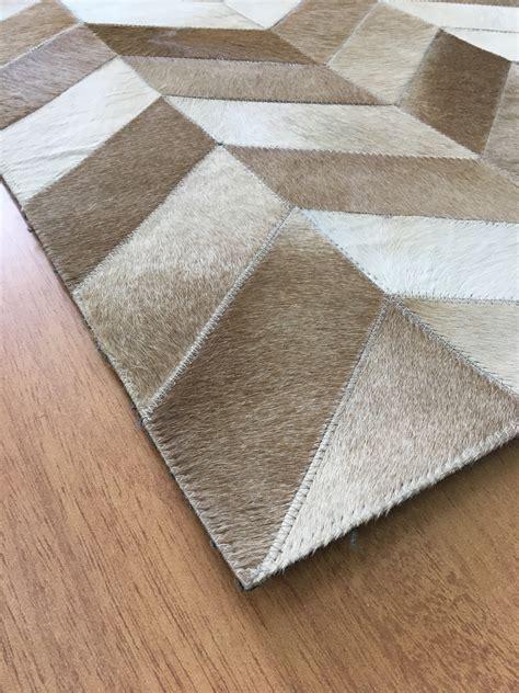 brown leather rug handmade leather brown ivory rug 9 x 12 jak107