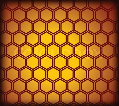 honeycomb pattern color honeycomb seamless pattern vector stock vector colourbox