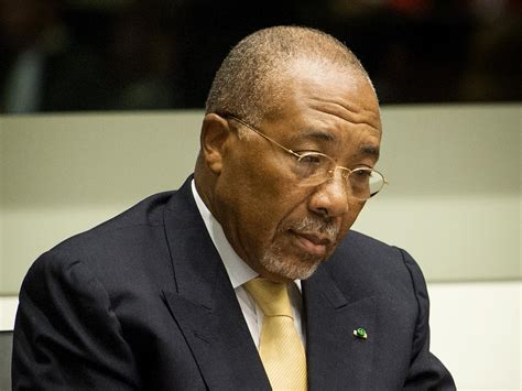 ex president of liberia aided war crimes court rules war crimes sentence upheld against liberian ex president