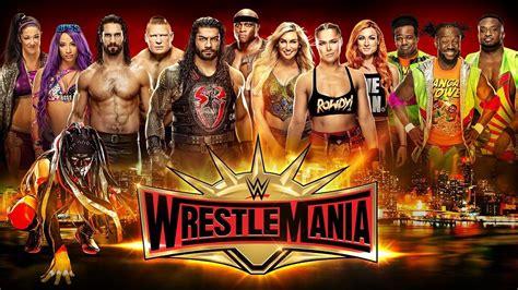 wwe wrestlemania   ppv hd replay full show