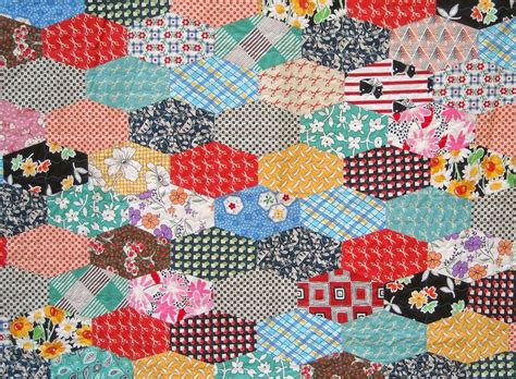 Hexagon Shapes For Patchwork - 275 best quilts chy circles hexies yo yos other