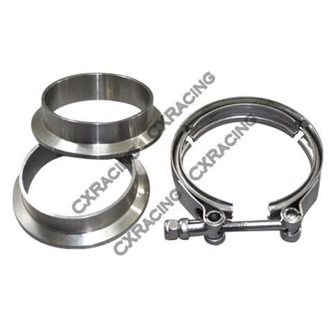 2 5 Stainless V Band Flange 2 5 quot v band cl 2 5 quot i d flanges 2 flanges 304