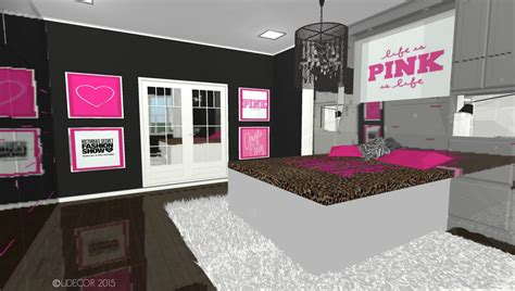 Ideas For Decorating Bedroom by Victoria S Secret Pink Inspired Bedroom Ljdecor