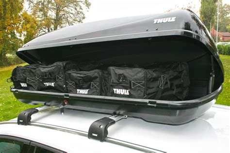 Bars On Top Of Car by Thule 200 Roof Box Review