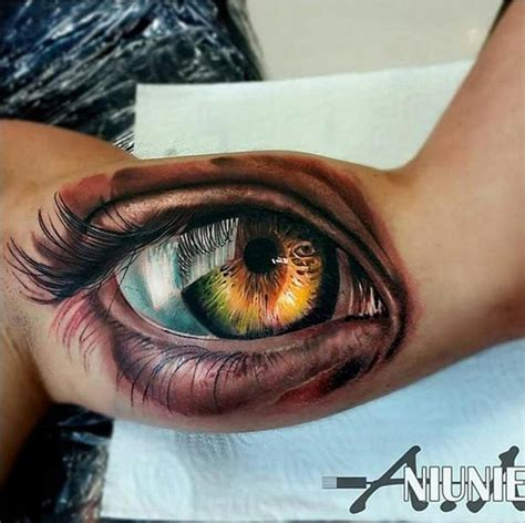 realistic eye best tattoo design ideas