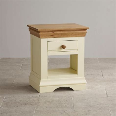 country cottage natural oak 5ft dining table cream painted country cottage natural oak tall bookcase cream painted