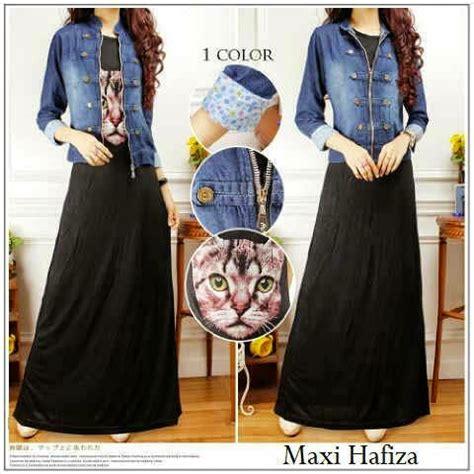 dress maxi hafiza 102414
