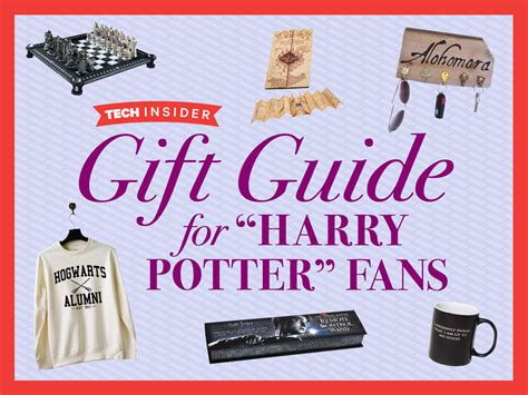 gifts for fans the harry potter gift guide business insider