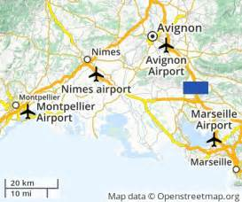 Avignon France Map by Cheap Flights To Avignon The French Republic