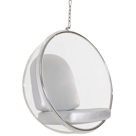 bubble swing chair eero aarnio style hanging bubble chair