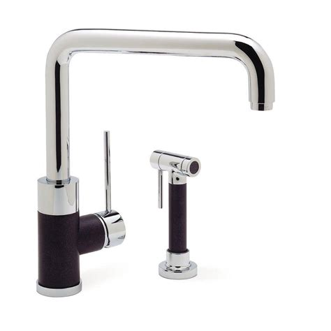 blanco faucets kitchen fontaine bellver single handle standard kitchen faucet