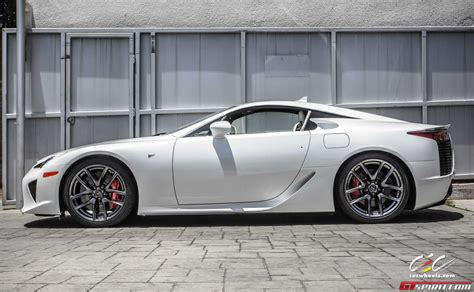 lexus white for sale pearl white lexus lfa via cec wheels gtspirit