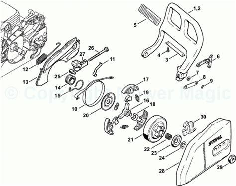 stihl 029 parts diagram stihl 026 parts diagram wiring diagram and fuse box