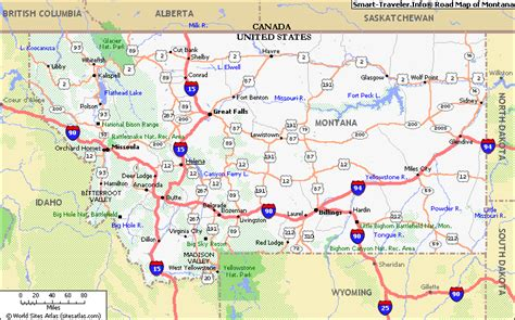 usa montana map map of montana click now for city maps montana