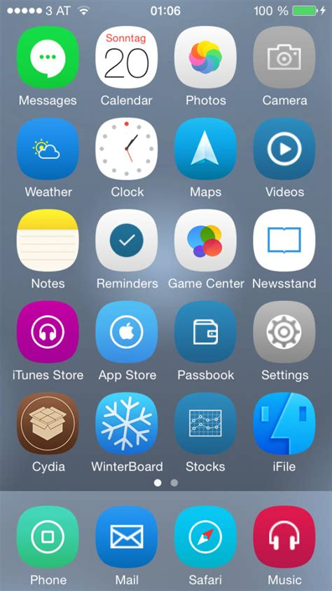 winterboard themes names theme iphone新作アイコン winterboardテーマ4種 2014 07 25 bitzedge