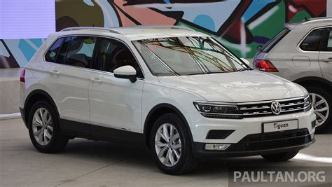 New Vw Tiguan 1 4 new volkswagen tiguan launched in malaysia 1 4 tsi