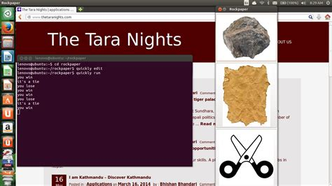 Quickly Tutorial Ubuntu Application | quickly python tutorial working with guithe tara nights