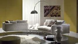 erresse divani arredare con il bianco in design arredamento