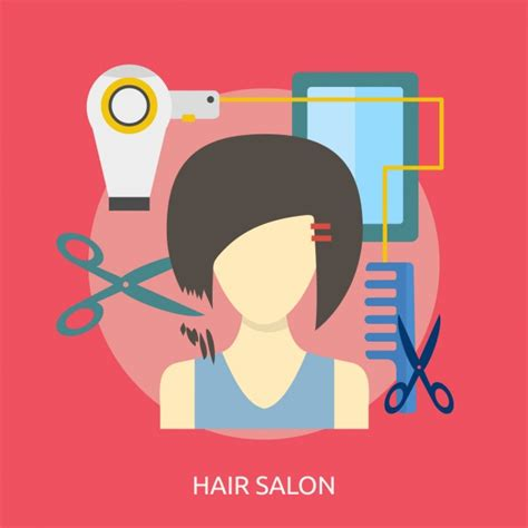 download hair salon hair salon background design vector free download