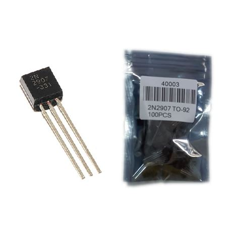 transistor jengkol vs mosfet d175 2n2907a free shipping 100pcs in line triode transistor pnp silicon planar transistors to 92