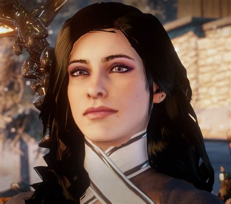 dragon age inqusition black hair yennefer of vengerberg dai sliders at dragon age