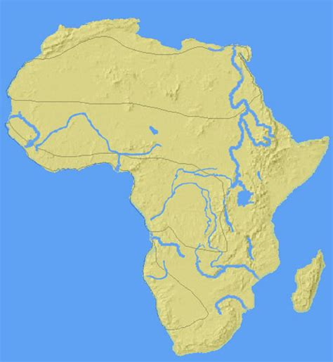 africa map zoomschool africa map lakes www pixshark images galleries