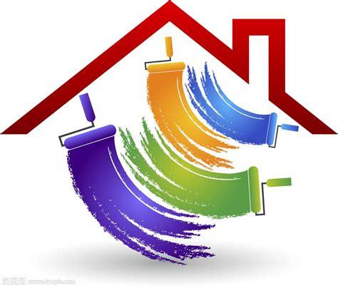 house painter and decorator 油漆房子logo素材矢量图片 图片id 622530 行业标志 标志图标 矢量素材 淘图网 taopic com