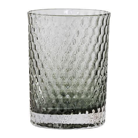 Bathroom Glass Tumbler Buy Bloomingville Grey Glass Bathroom Tumbler Amara