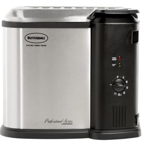 butterball electric turkey fryer 23010115 the home depot