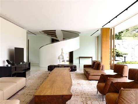 nature inspired living room modern nature inspired home in singapore interiorzine