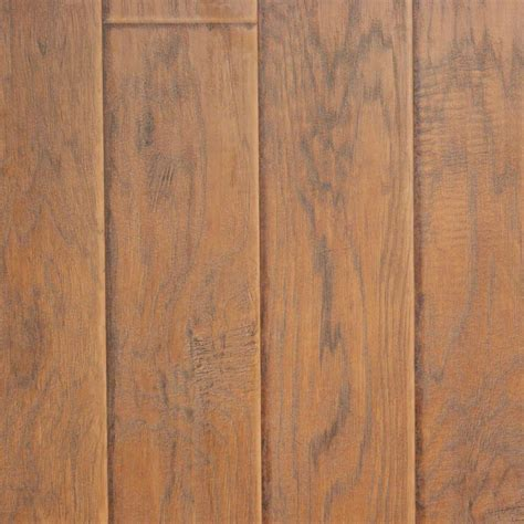 Locking Laminate Flooring Innovations Sand Hickory 8 Mm Thick X 11 52 In Wide X 46 52 In Length Click Lock Laminate