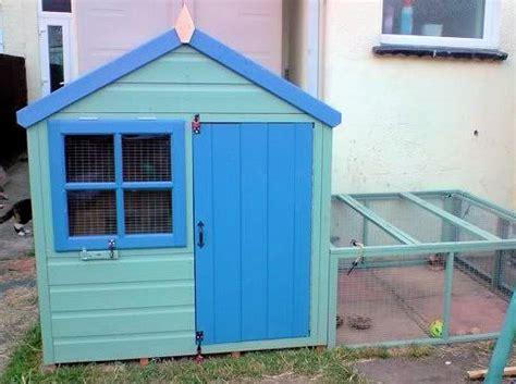 bigger rabbit hutch   playhouse