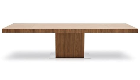 Extended Dining Table by Calligaris Park Extending Dining Table In Walnut