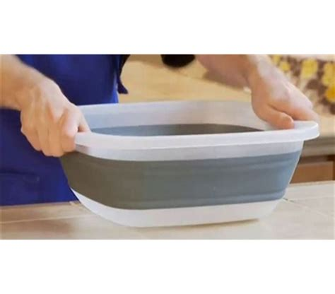 washing dishes in bathtub collapsible dish washing tub