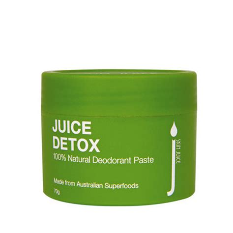 Australian Detox Juice by Skin Juice Juice Detox Deodorant Nourished