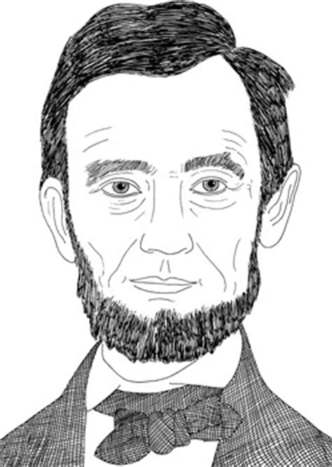 simple biography of abraham lincoln drawn pice abraham lincoln pencil and in color drawn