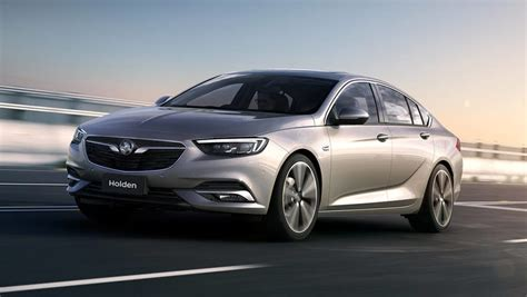 opel commodore 2018 2018 holden commodore revealed car carsguide