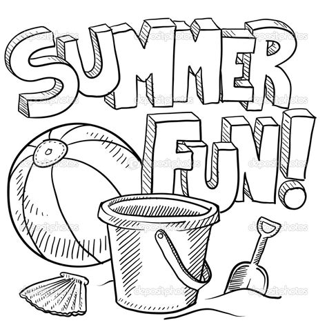 summer coloring page pdf printable beach coloring page free printable summer