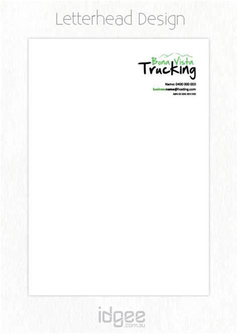 trucking company letterhead templates logo design warragul logo design letterhead design