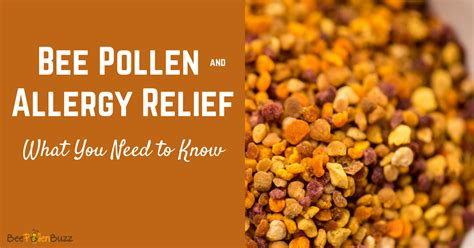 Bee Pollen for Allergies Royal Jelly