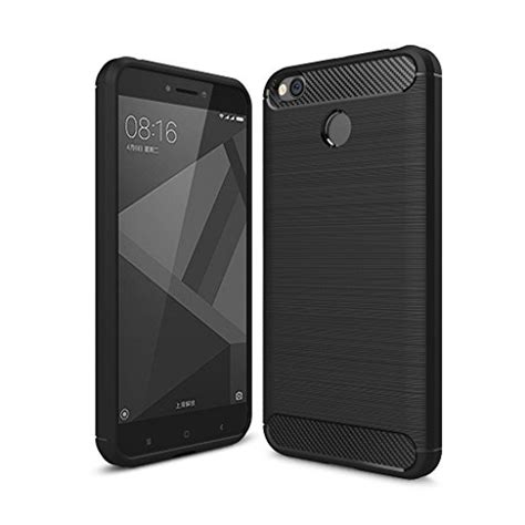 Slim Fit Xiaomi Redmi4a Tpu Carbon Shockproof buy redmi 4 back cover redmi 4 ultra light carbon fiber armor shockproof brushed silicone