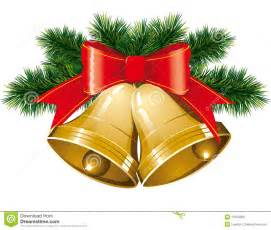 Christmas bells with christmas tree stock photo image 17054000