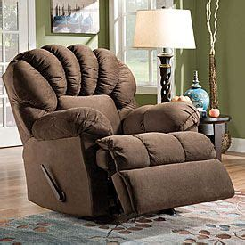 Stratolounger The Big One Nimbus Umber Recliner by Victory Chocolate Recliner At Big Lots Home Swag