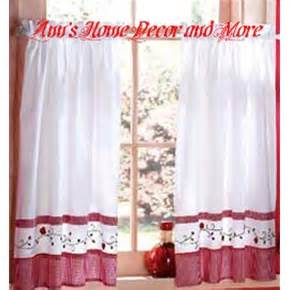 Strawberry Kitchen Curtains Anns Home Decor And More Designables Strawberry Vine 24l Tier Set Kitchen Curtains