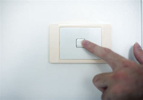 image of finger switching a light switch freebie