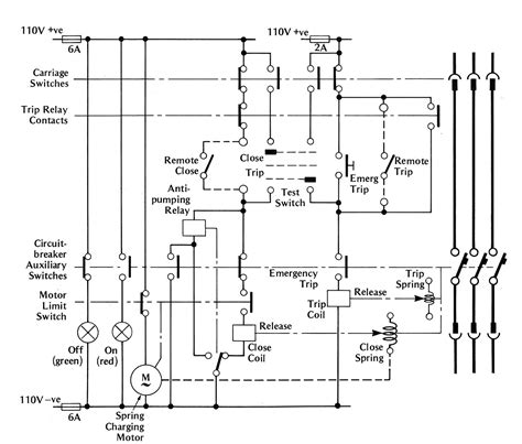 magnificent air circuit breaker wiring diagram