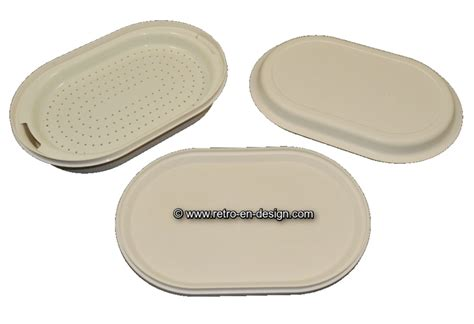 Tupperware Lotus Platter vintage tupperware oval serving tray recently sold