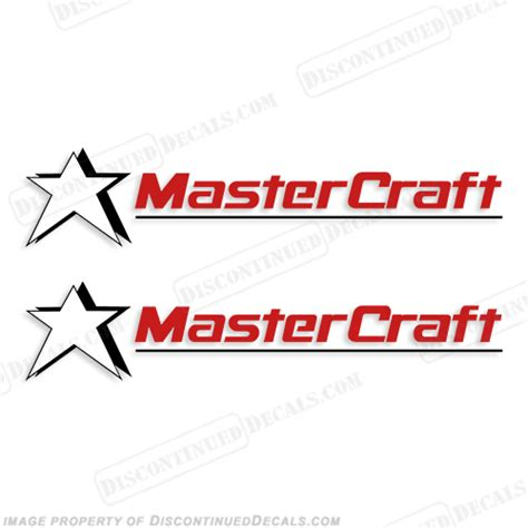 wake boat decals mastercraft boat decals style 3 set of 2