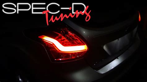 2014 ford focus tail light specdtuning installation video 2012 2014 ford focus